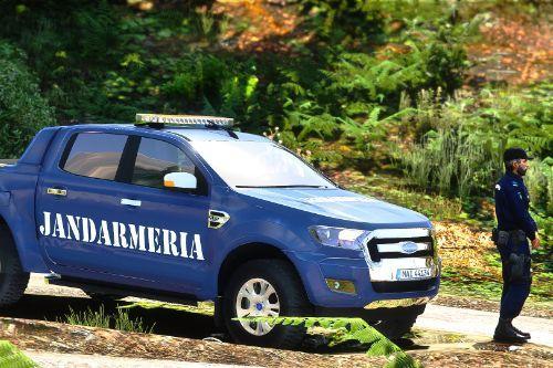 2015 Ford Ranger Jandarmeria Romana
