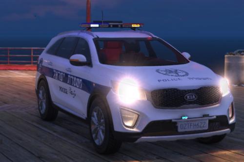 2015 Kia Sorento UM | Israeli Police Car