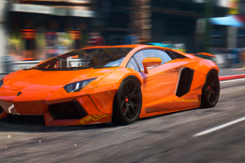 2015 Lamborghini Aventador [Liberty Walk | Animated Engine | Liveries | Tuning | Auto-Spoiler]