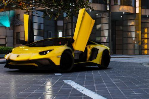 2015 Lamborghini Aventador SV [Add-On]