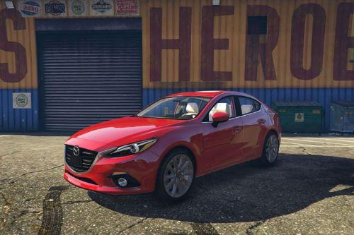 2015 Mazda 3 s Sedan & Hatchback [Replace]