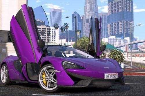 2015 McLaren 570S [Add-On / Replace]