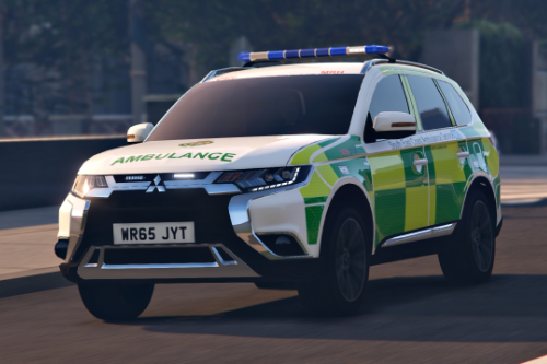 2015 Mitsubishi Outlander - South East Coast Ambulance Service [Reskin]