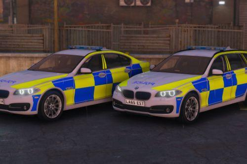 2015 Police BMW 530D (Pack)