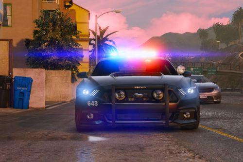 2015 Police Mustang GT [Add-On]