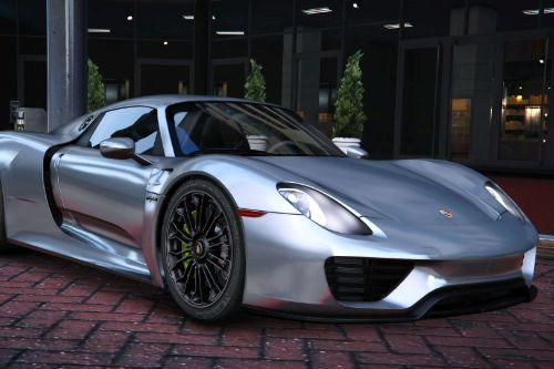2015 Porsche 918 Spyder & Weissach Kit [Add-On | Real spoiler]