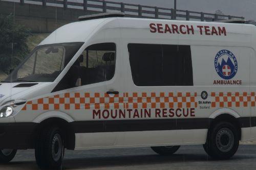2015 Scottish Mountain Rescue Mercedes Sprinter