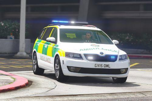 2015 South East Coast Ambulance Skoda Octavia RRV [ELS] [REL]