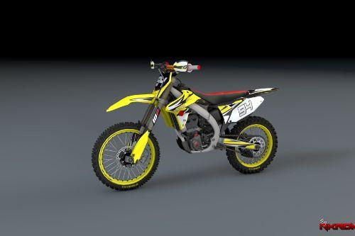 2015 Suzuki RMZ 250 Version 2