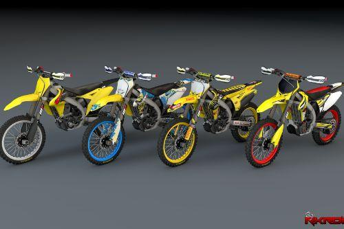 2015 Suzuki RMZ 250 Version 3