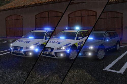 2016 & 2012 Volvo XC70 Swedish Police Pack | ELS