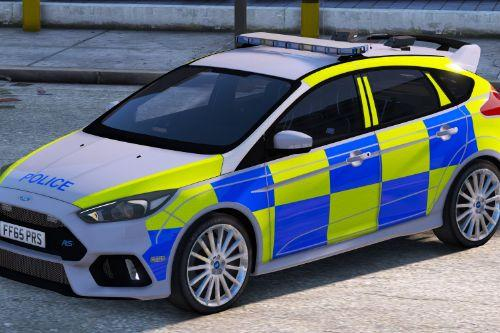 2016/2017 Police Ford Focus RS (Marked/Unmarked)