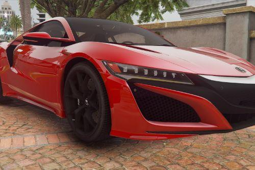 2016 Acura NSX [Add-On / FiveM | LODs]