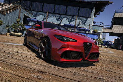 2016 Alfa Romeo Giulia Quadrifoglio [Add-On | Liveries]