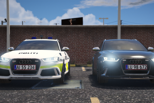 2016 Audi Rs6 Avant - Danish Police - Marked/Unmarked - (Replace)