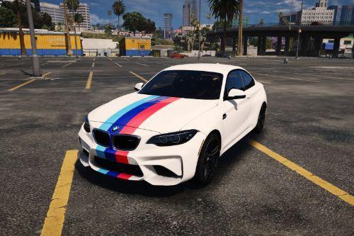 2016 BMW M2 bandes BMW