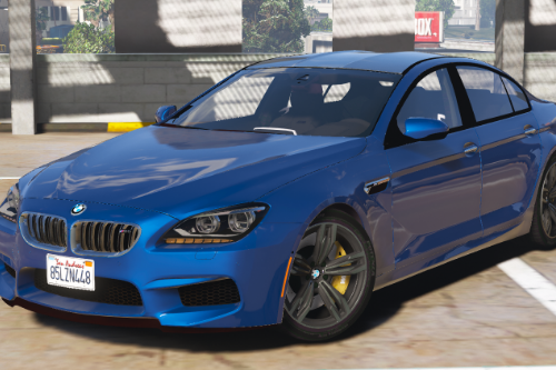 2016 BMW M6 Gran Coupe [Add-On / Replace]
