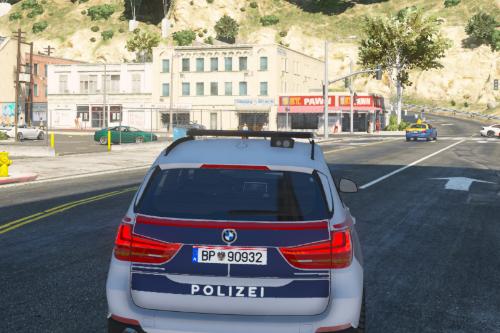 2016 BMW X5 Österreichische Bundespolizei/LVA [ELS] [PlatinNightRP] [PaintJob]