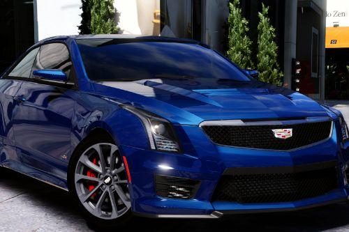 2016 Cadillac ATS-V Coupe [Add-On / Replace]