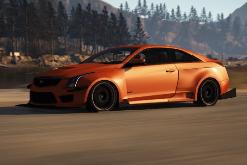 2016 Cadillac ATS-V Forza Edition [Add-On / OIV / Animated Engine / Livery]