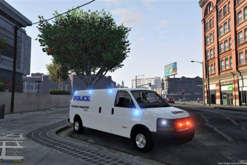 2016 Chevy Express 3500 Coroner-Prisoner Transport - Undercover [ELS] Singleplayer