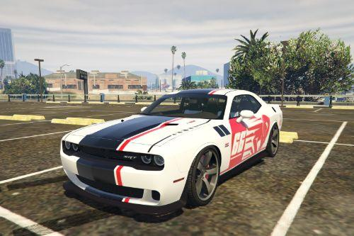 2016 Dodge Challenger Livery 66 Ram
