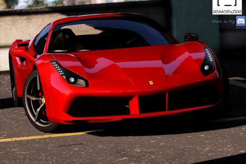 2016 Ferrari 488 GTB [Add-On | Template]