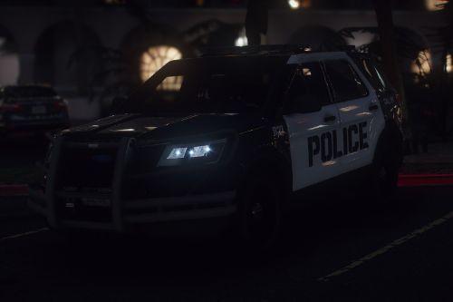 2016 Ford Explorer POLICE Interceptor [Replace / ELS]