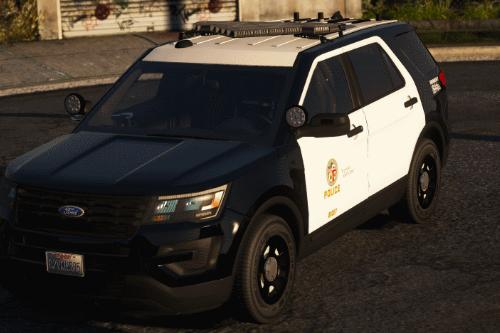 2016 Ford Police Interceptor Utility LSPD/LAPD [ELS]