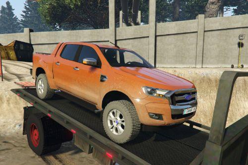 2016 Ford Ranger [Add-on/replace/trailer/livery/extras/EU Plates]