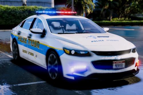 2016 Israel Police Chevrolet Impala | PaintJob