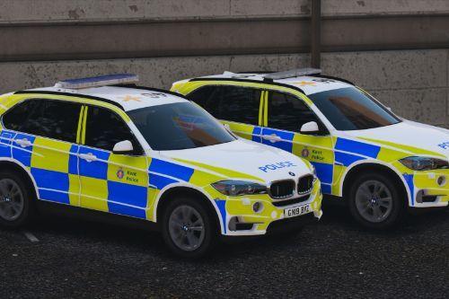 Kent Police BMW X5 ARVs [Replace   ELS   Template   Gun Locker]