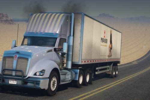 2016 Kenworth T680 Daycab [Add-On / Replace | LODs | Template]