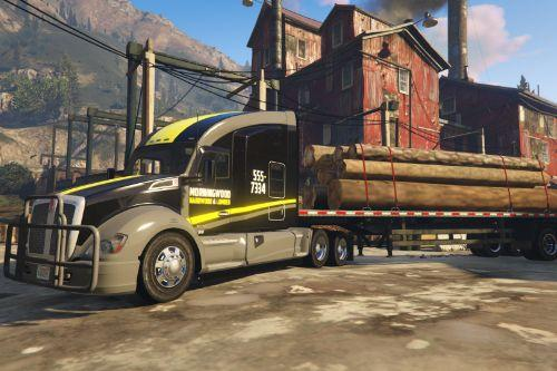 2016 Kenworth T680 Livery Morningwood - Lumber Company