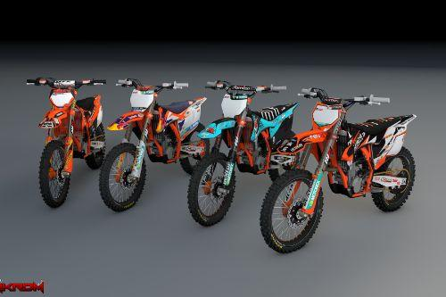2016 KTM 450 SX-F - Official Liveries Pack