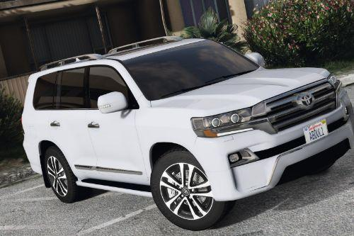 2016 Toyota Land Cruiser VXR  [Add-On / Replace]