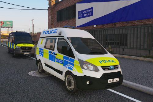 2016 Met Police Ford Transit Custom (ELS)