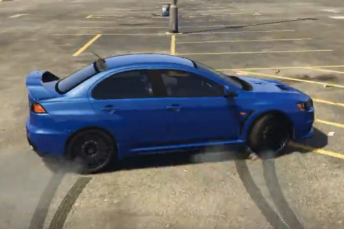2016 Mitsubishi Lancer Evolution X High Performance Drift Handling