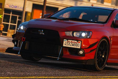 2016 Mitsubishi Lancer Evolution X [Add-On / Replace | Tuning]