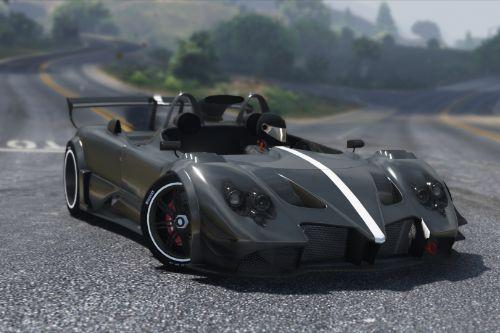 2016 Pagani Zonda LM-R Ragno [Add-On | Digital Dials]
