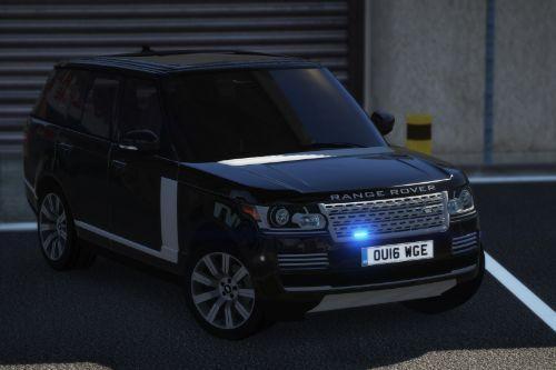 2016 Police Range Rover Vogue Unmarked [ELS]