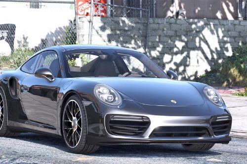 2016 Porsche 911 Turbo S [Add-On / Replace | Auto Spoiler | Animated | Template]