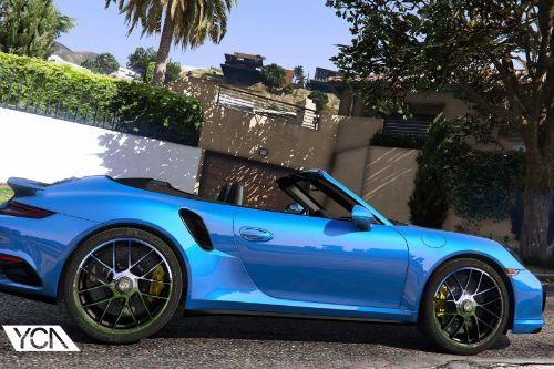 2016 Porsche 911 Turbo S Cabriolet (991.2) [Add-On | Wipers]