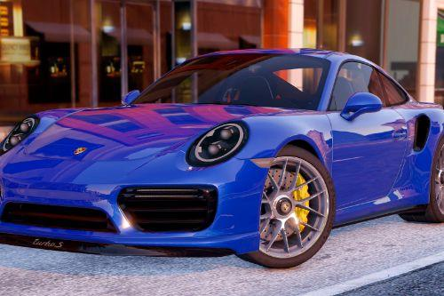 2016 Porsche 911 Turbo S [Add-On / Replace]