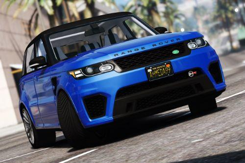 2016 Range Rover Sport SVR [Add-On / Replace]