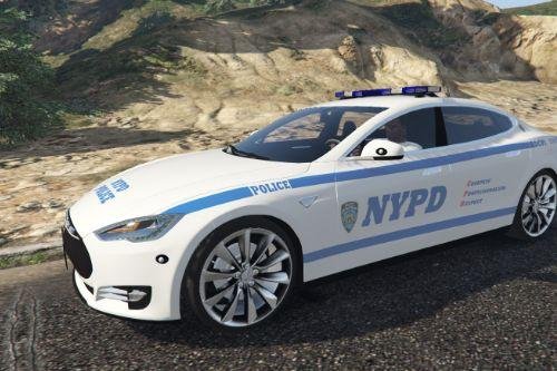 2016 Tesla Model S - NYPD - USA, New York Police [Paintjob]