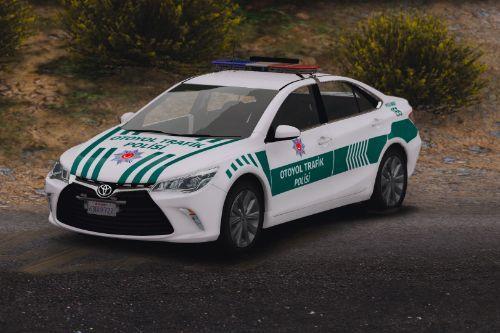 2016 Toyota Camry Otoyol Trafik Polisi Turkish
