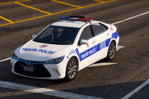 2016 Toyota Camry Trafik Polisi Turkish