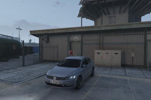 2015 Volkswagen Passat | Unmarked Danish/British police | ELS ready