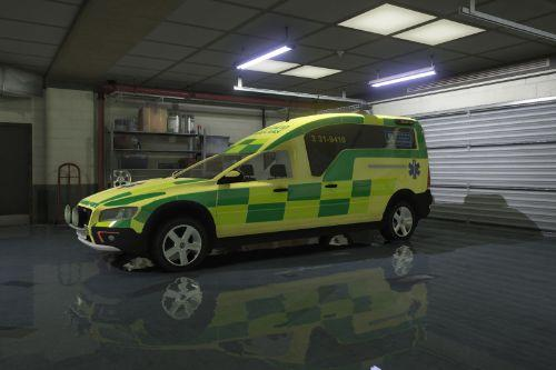 2016 Volvo XC70 Nilsson | Swedish Ambulance